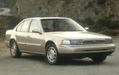 nissan maxima 1995 service manual and repair car service