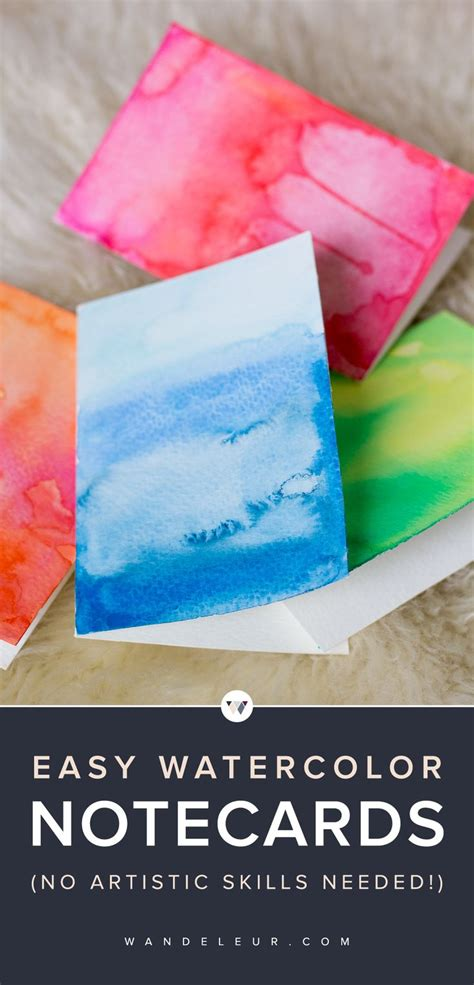 how to make watercolor cards 25 unique watercolor cards ideas on