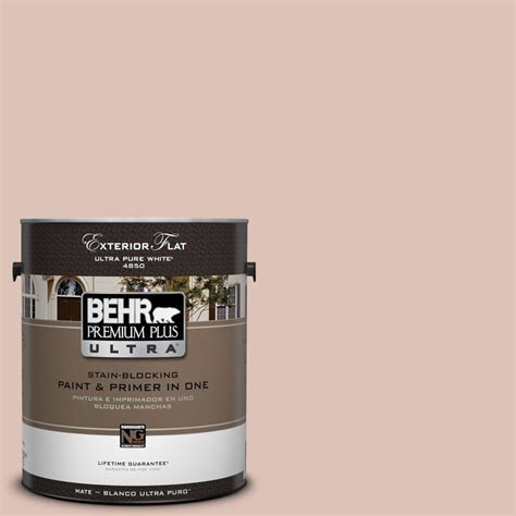 home depot ultra paint behr premium plus ultra 1 gal ul120 15 coral flat