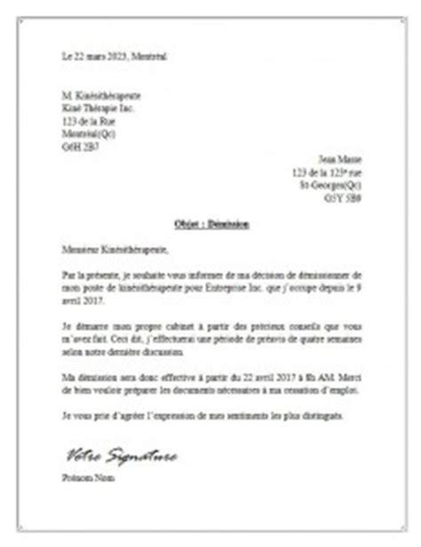modele lettre preavis ouvrier document