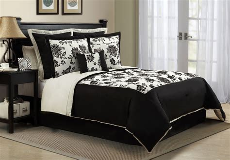 black bedding sets black and white comforter set in and king sizes