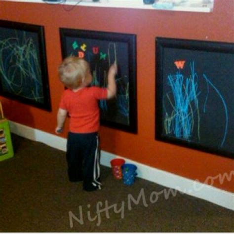 diy chalkboard for toddlers diy framed chalkboard for stuff
