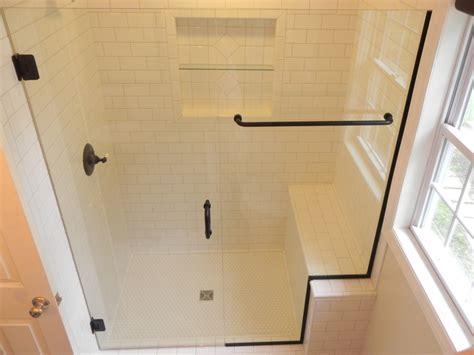 Frameless Tub Shower Doors by Glass Shower Enclosures Bathroom Renovations