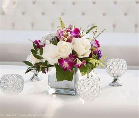 silk flower centerpieces for wedding reception 17 best ideas about square vase centerpieces on