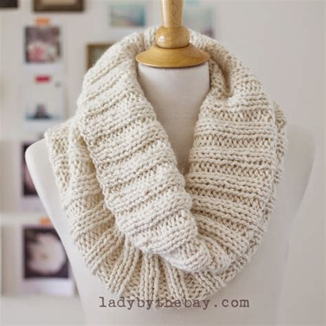 how to bind knitting a scarf by the bay cozy ribbed scarf pattern