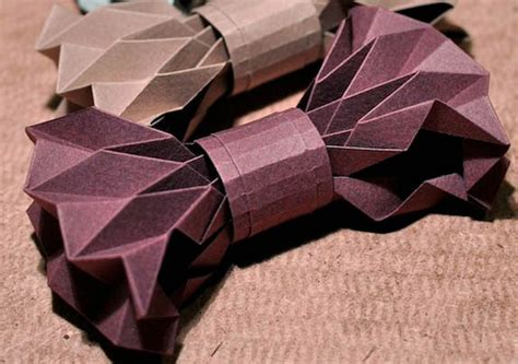 bowtie origami how to make a bowtie origami paper origami guide