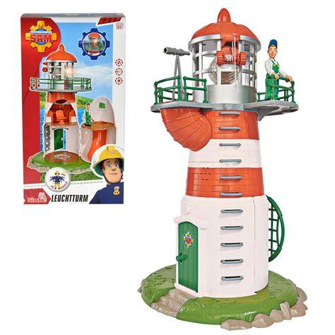fireman lights fireman sam lighthouse with light sound character