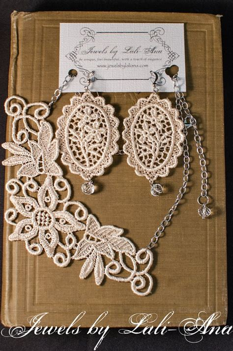 how to make lace jewelry 1000 images about for lace on