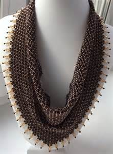scarf necklace beaded 39 best images about beaded scarf on beaded