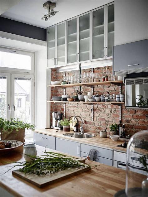 kitchen wall design ideas 25 best ideas about exposed brick kitchen on
