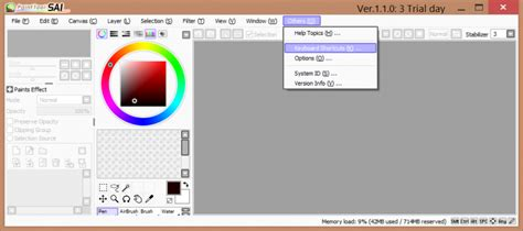 paint tool sai key using wacom touch gestures in unsupported applications