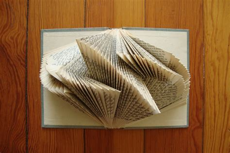 how to do book origami looking glass books literary origami