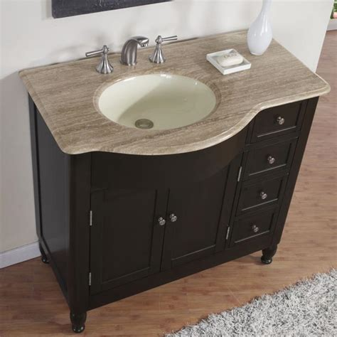 38 perfecta pa 5312 bathroom vanity single sink cabinet walnut finish bathroom
