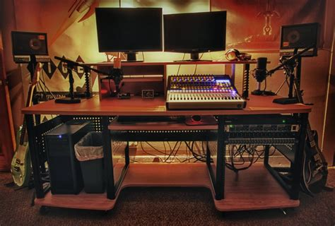 producer studio desk best studio desk 2018
