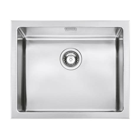 smeg kitchen sinks available the smeg vqr50 mira kitchen sink single bowl brushed stainless