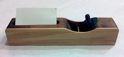 michigan woodworkers guild card and brochure holders for mid michigan woodworkers
