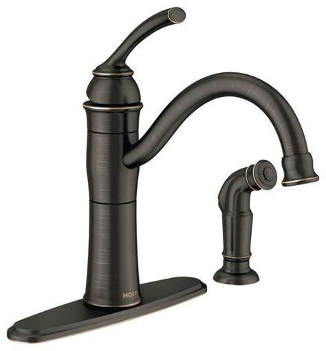 traditional kitchen faucet moen 87230 braemore high arc kitchen faucet traditional