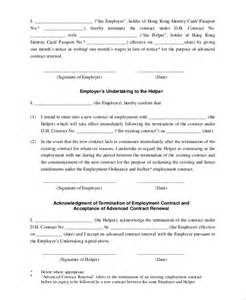 sample employment contract 6 documents in pdf word