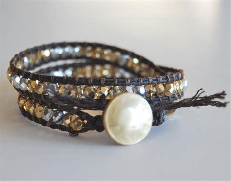 how to make beaded bracelet beaded wrap bracelet tutorial make bracelets