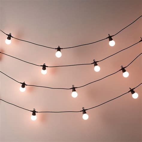 string of light bulbs 25 best ideas about lights on room