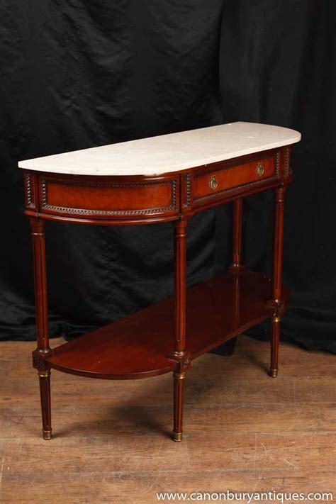 marble top sofa tables regency console table mahogany marble top sofa tables