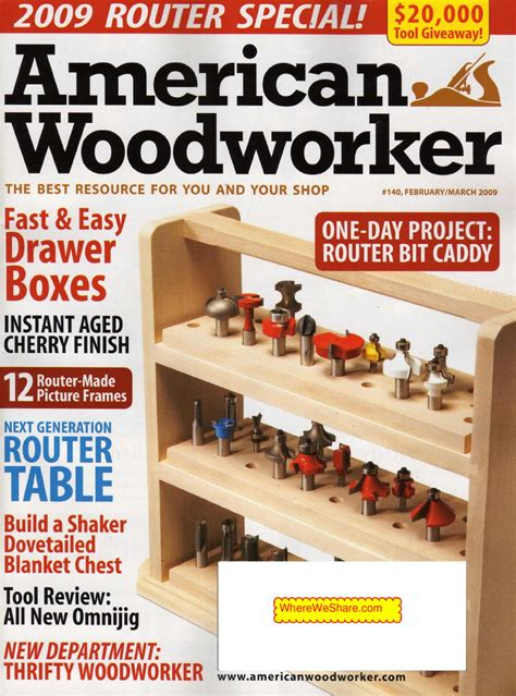 american woodworker american woodworker february march 2009 malestrom by