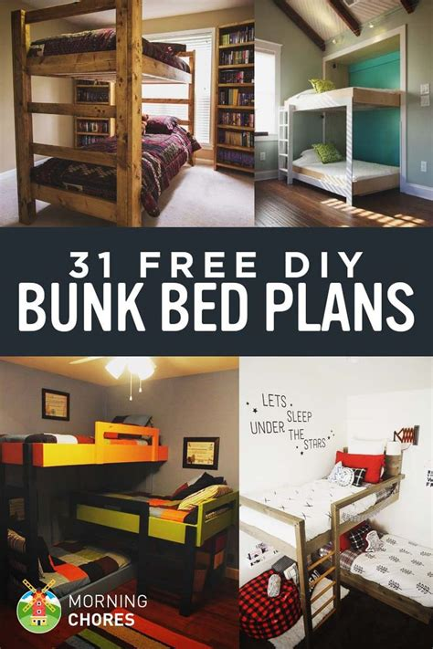 single bunk bed plans best 25 bed plans ideas on platform bed plans
