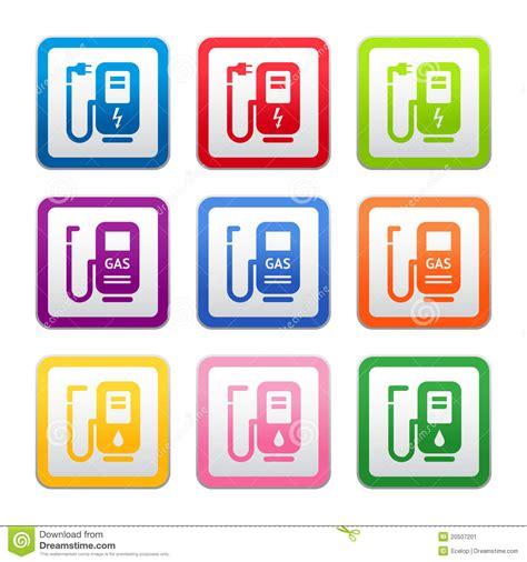 s mbolo ra z cuadrada muestra de la gasolinera s 237 mbolo pictograma color