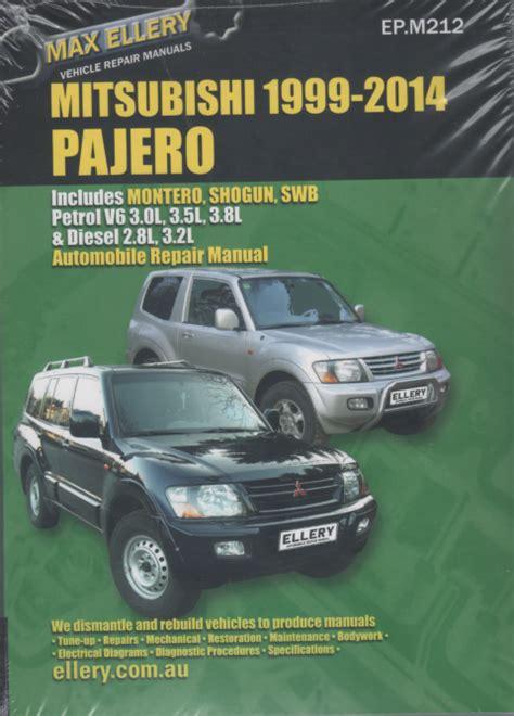 manual repair autos 1993 mitsubishi pajero engine control mitsubishi pajero 2000 2014 petrol diesel repair manual sagin workshop car manuals repair