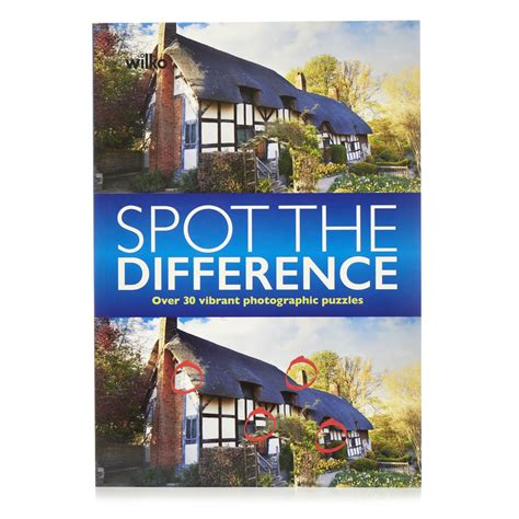 picture puzzle books spot the difference wilko spot the difference at wilko