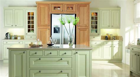 Kitchen Cabinets Cottage Style painted kitchen green amp oak