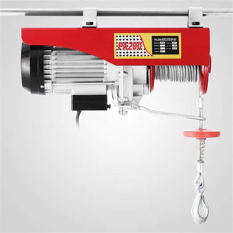 Electric Hoist Motor by 200kg Electric Hoist Scaffold Winch Lifting Crane Wire