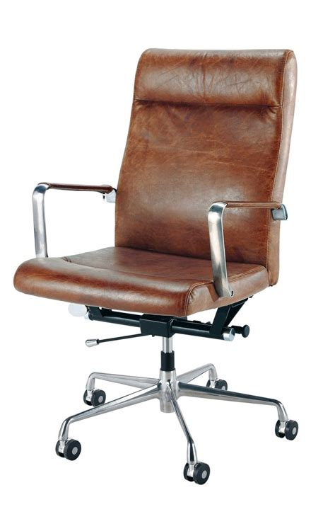 small leather desk chair best 20 leather office chairs ideas on office