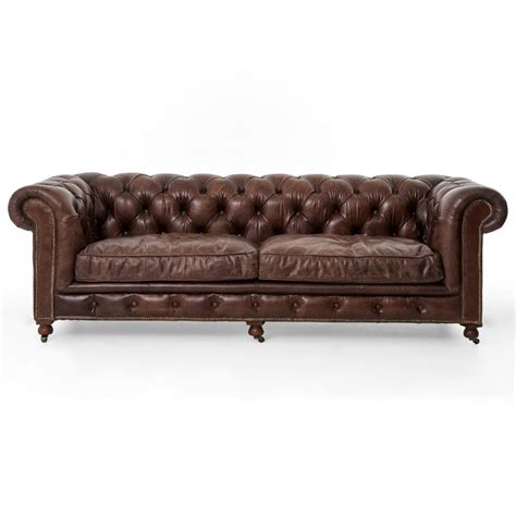 chesterfield tufted leather sofa club chesterfield tufted brown leather sofa 96w kathy