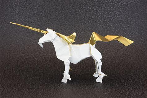 origami unicorn the origami forum view topic unicorn designs