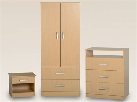 flat packed bedroom furniture seconique flat packed polar beech bedroom furniture package