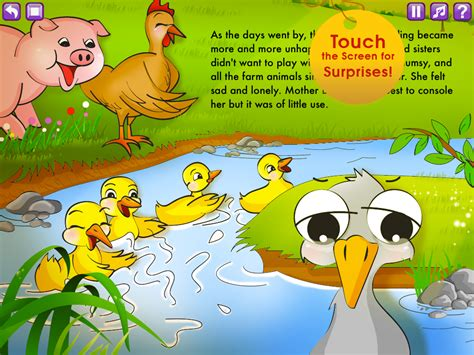 the duckling picture book the duckling storybook hd smash atom software llc