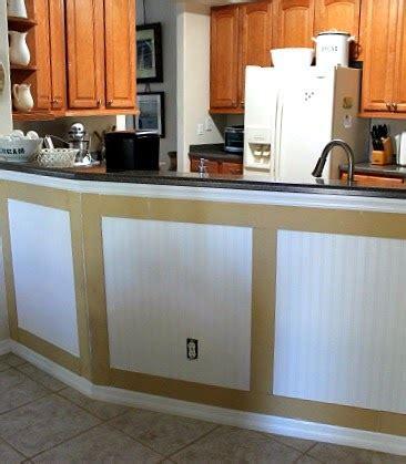 installing kitchen island installing bead board wallpaper and board and batten no minimalist here