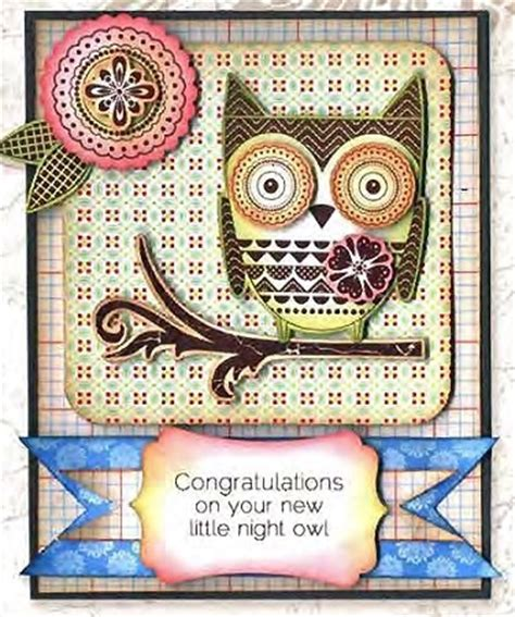 owl rubber st darcie s cling mounted rubber sts owl