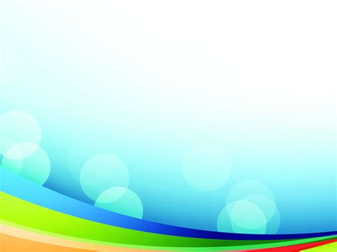 colorful rainbow powerpoint templates colorful rainbow