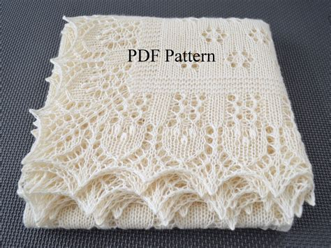 baby shawl knitting patterns shawl pattern forest glade lace wrap scarf baby