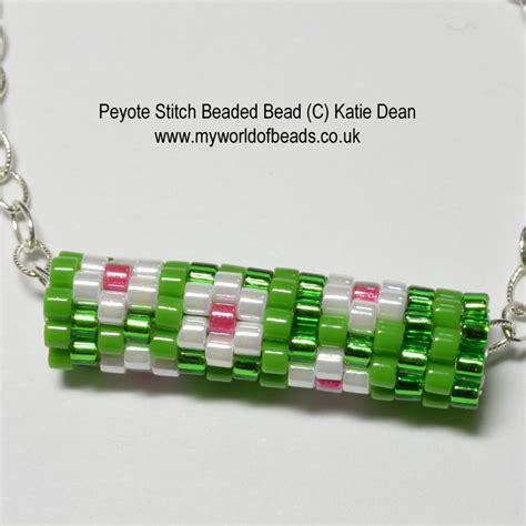 peyote stitch beading peyote stitch my world of by dean