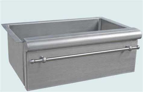 metal kitchen sinks stainless sink handcrafted metal farmhouse kitchen