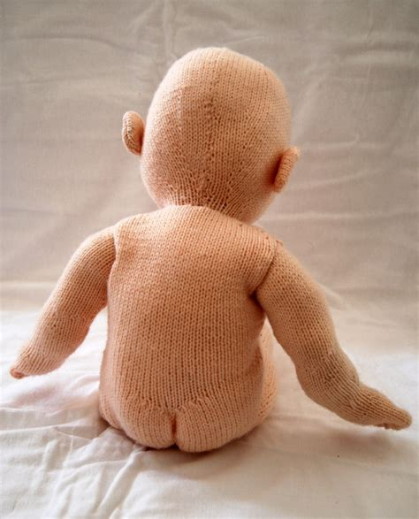 how to make a knitting doll pin by knitter on knitted dolls