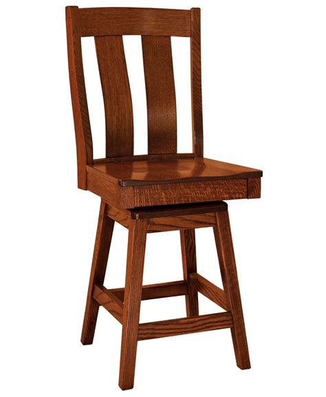 f n woodworking f n amish chairs swivel counter height stool wood seat