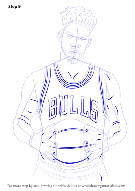 how to drow learn how to draw jimmy butler basketball players step