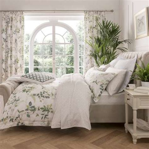 dorma botanical garden bed linen collection dunelm