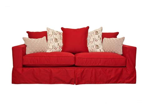 red sofa covers home furniture design
