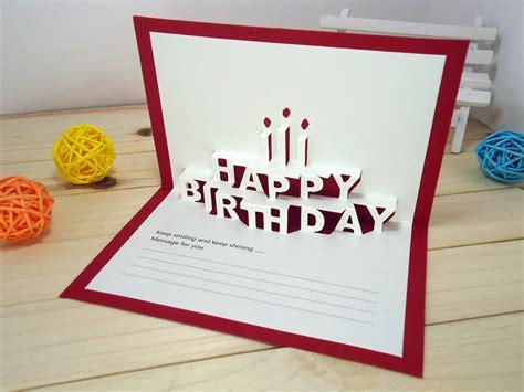 origami birthday card ideas card invitation design ideas 14 5x9 5cm happy birthday