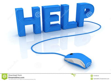 help with help with computer mouse stock illustration image of